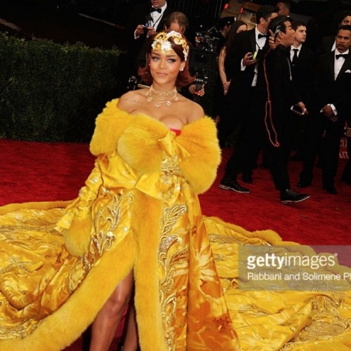 El pavorreal más brillante: The MET Gala