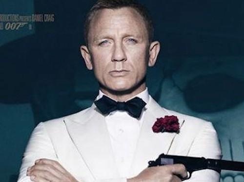 James Bond y La Catrina en Spectre