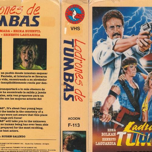 """Ladrones de Tumbas"", la gotita de sangre del ""churro"" mexicano al Slasher"
