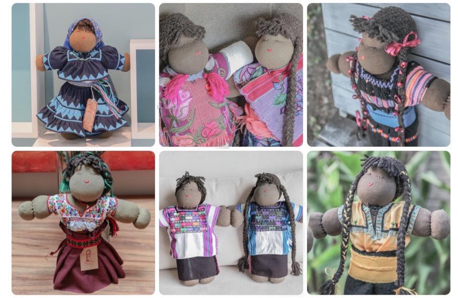 1167 muñecas en homenaje y por ayudar