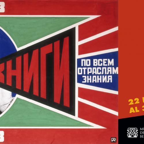 Vanguardia rusa en el Palacio de Bellas artes ¿te la vas a perder?