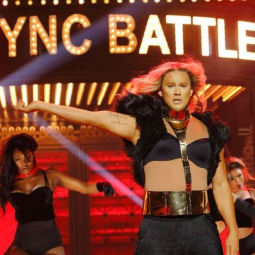 Channig Tatum & Beyoncé en Lip Sync Battle