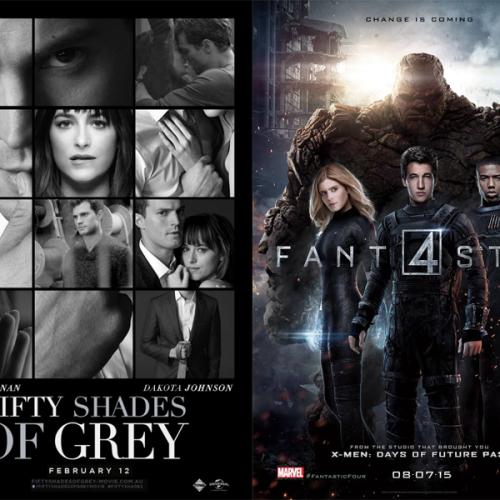 Razzie 2016, lo peor del cine: 50 sombras y Los 4 fantásticos