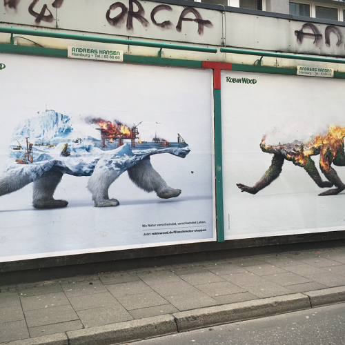 Fauna en peligro, la campaña
