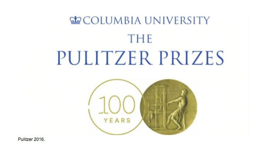 Ganadores del premio Pulitzer 2016