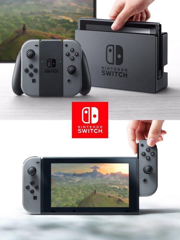 Nintendo Switch, nueva consola del gigante de los videojuegos