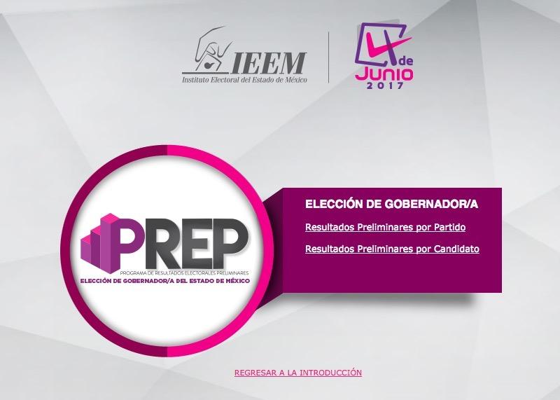 Elecciones EDOMEX 2017 | sigue aquí el PREP