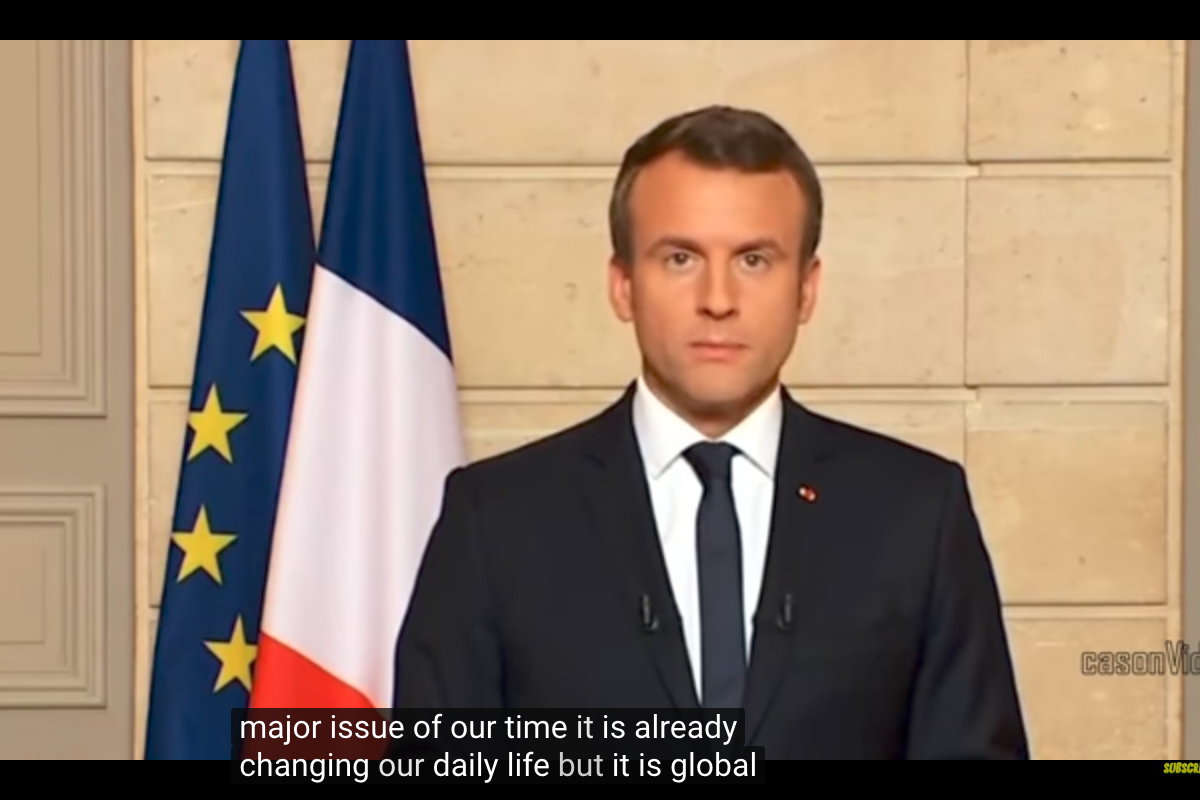 #MakeOurPlanetGreatAgain: Macron a Trump con mucho cariño
