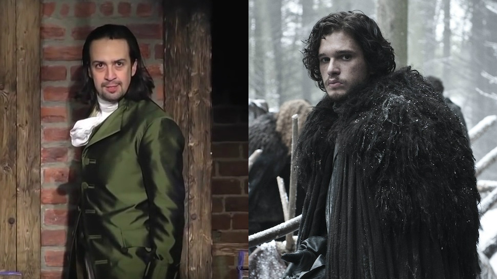 "Video: Cuando mezclas ""Hamilton"" con ""Game of Thrones"""