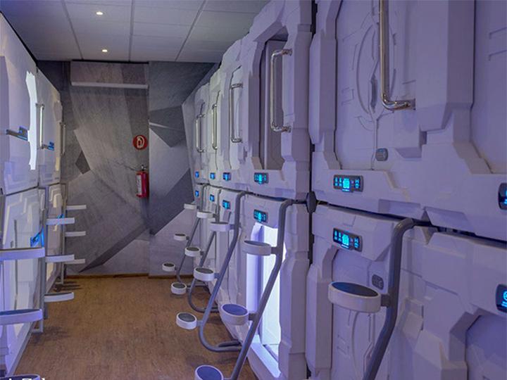 Conoce este hotel de México donde puedes dormir en una cápsula inteligente