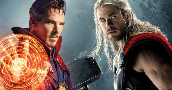 """Doctor Strange se cuela en el nuevo tráiler internacional de """"Thor Ragnarok"""""""