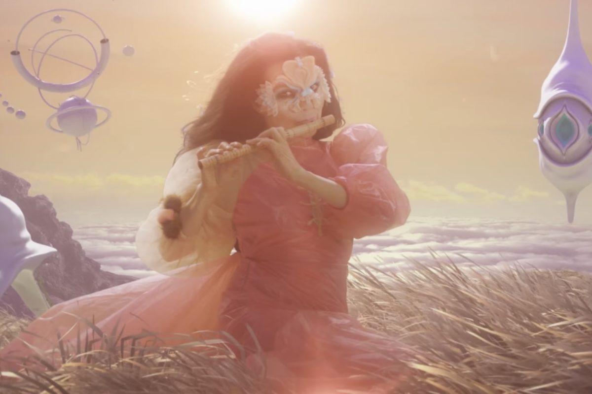 The Gate: Björk nos lleva a alucinar en su nuevo video