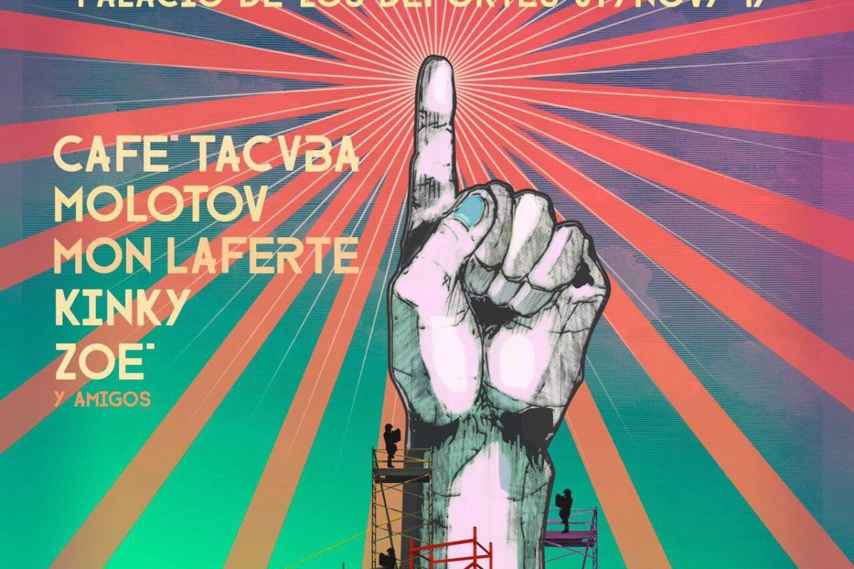 """""""Amplifica"""" reúne a Café Tacvba, Molotov, Mon Laferte, Kinky y Zoé para apoyar a damnificados"""