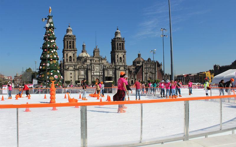 El 5 de diciembre abrirá la pista de hielo en el Zócalo