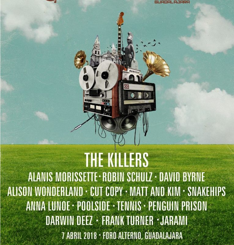 Corona Capital Guadalajara: The Killers y Alanis Morissette al frente del nuevo proyecto