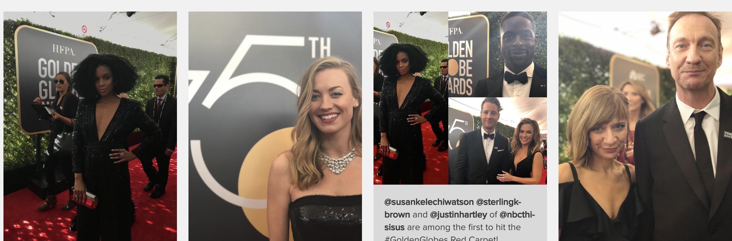 Golden Globes 2018, velo en vivo aquí 👇🏼