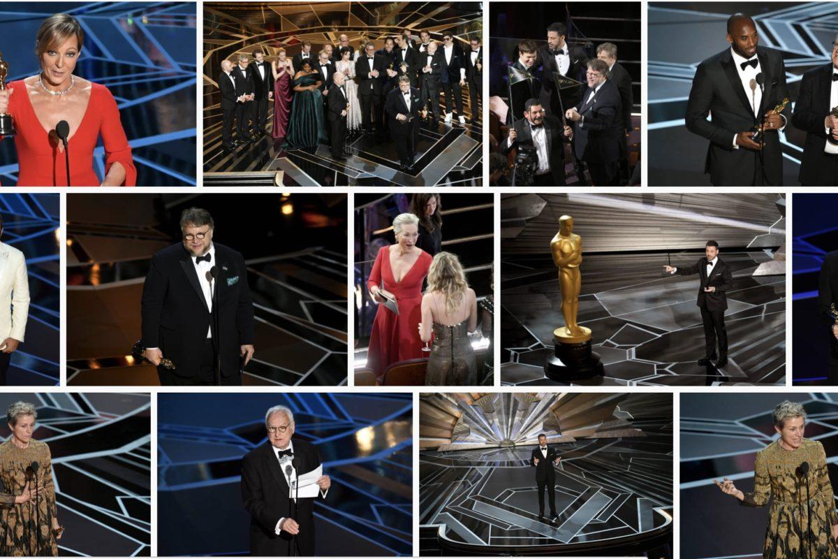Oscar 2018, TODOS los ganadores