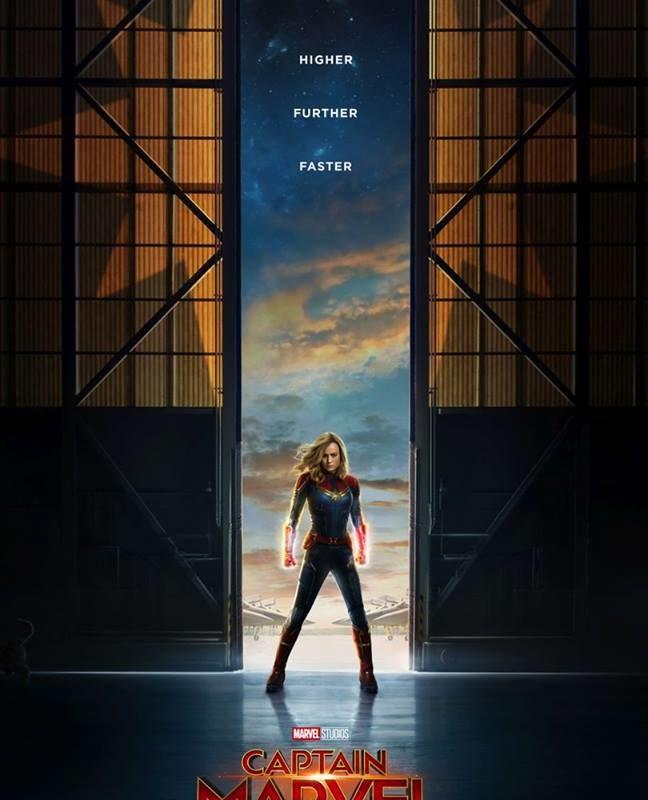 Captain Marvel presenta sus poderes en primer tráiler oficial