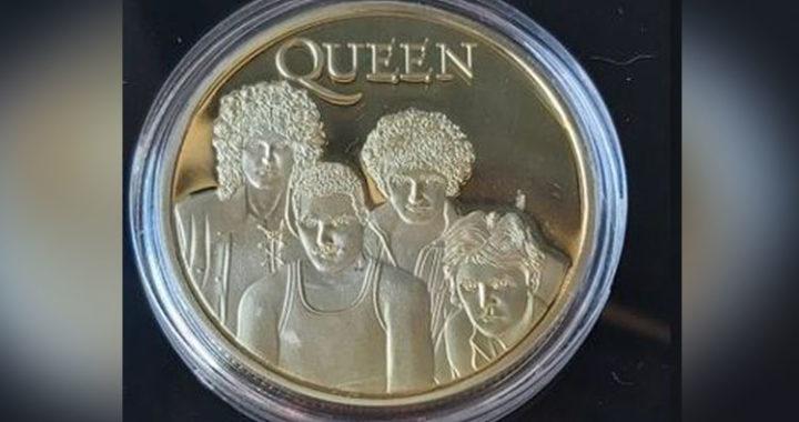 Casa de moneda británica rinde homenaje a Queen