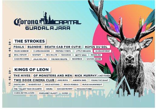 Corona Capital Guadalajara revela su cartel oficial